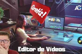 Editor de Vídeos Fantástico e Gratuito