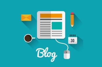template otimizado de blog